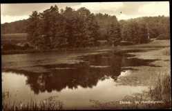 Postcard Ebrach Oberfranken, Partie im Hantalgrund, Blick auf einen See
