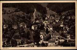 Postcard Bad Wildbad Kreis Calw in Baden Württemberg, Blick auf Zentrum des Ortes