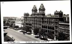 Postcard Melbourne Victoria, The Windsor, Spring Street, The Rose Series P. 10704
