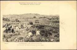 Cp Exposition Universelle Paris 1900, Colonie de Madagaskar, Mavetanana 1895