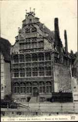 Postcard Gand Ostflandern, Maison des Bateliers, House of the Boatmen