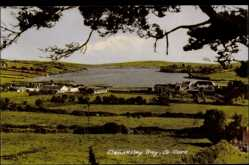 Postcard County Cork Irland, general view of Clonakilty Bay, lake