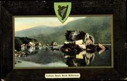 Passepartout Ak Killarney Irland, general view of Colleen Bawn Rock