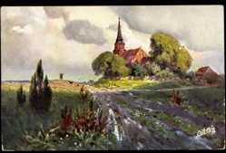Künstler Ak Günther, Paul, Serie Landschaften Nr. 589