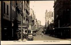 Foto Ak Sydney Australien, general view of the King Street