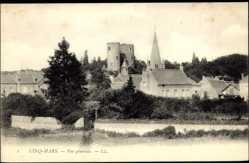 Cp Cino Mars Indre et Loire, vue générale de la ville