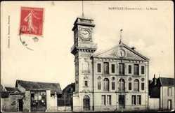 Cp Sainville Eure et Loir, vue générale du Musée de l'extérieur