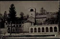 Postcard Cettigne Montenegro, Monastere de St. Pierre, Blick zum Kloster