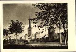 Postcard Tallinn Reval Estland, Tornide väljak, Platz der Türme
