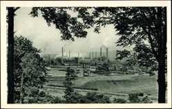 Postcard Völklingen a.d. Saar, Röchling'sche Eisen und Stahlwerke