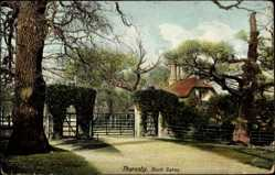 Postcard South Thoresby East Midlands England, Buck Gates