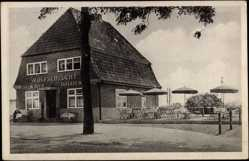 Postcard Ahrensburg Kreis Stormarn, Restaurant Wolfschlucht, Hugo Wolf