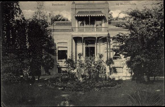 Ansichtskarte / Postkarte Boschoord bij Huis ter Heide Utrecht, Villa, Vorgarten