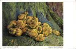 Künstler Ak van Gogh, Vincent, Früchtestillleben, Birnen