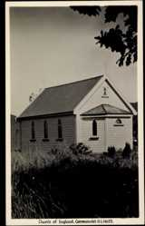 Foto Ak Coromandel Neuseeland, general view of the Church of England