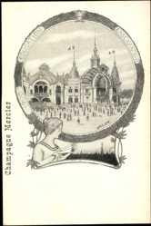 Künstler Ak Orlow, Champagne Mercier, 1900, Education, Einseignement
