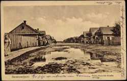 Postcard Baranowitschi Baranawitschy Weißrussland, Prinz Heinrich Straße