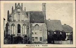 Ak Chojna Königsberg Neumark Ostbrandenburg, Ansicht vom Kloster