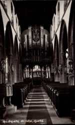 Foto Ak St. Ives Huntingdonshire England East, All Saints Church, Interior