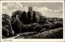 Ak Łagów Powiat Świebodziński Lagow Ostbrandenburg, Schloss Lagow und Umgebung