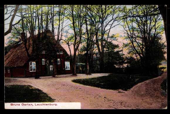 Ansichtskarte postkarte leuchtenburg bremen weser bruns for Bruns garten leuchtenburg