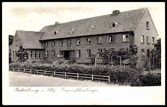 ansichtskarte postkarte ratzeburg in lauenburg jugendherberge. Black Bedroom Furniture Sets. Home Design Ideas