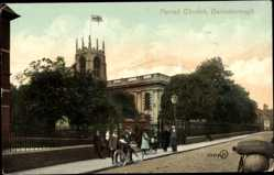Postcard Gainsborough East Midlands England, Parish Church
