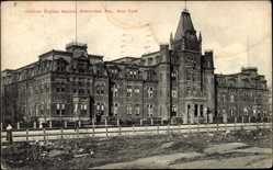 Judaika Ak New York USA, Hebrew Orphan Asylum, Amsterdam Avenue