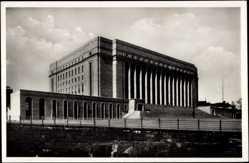 Postcard Helsinki Helsingfors Südfinnland, Ansicht des Reichstagsgebäudes