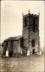 Foto Ak Clownevillage Derbyshire East Midlands, Church