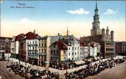 Ansichtskarten Kategorie Rathaus