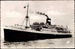 Postcard Paquebot El Mansour, Compagnie de Navigation Mixte, Courrier d'Algérie