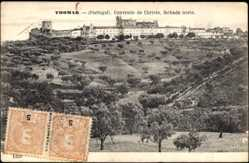 Postcard Thomar Portugal, Convento de Christo, fachada norte