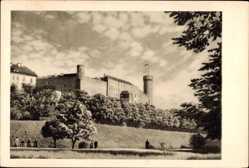 Postcard Tallinn Reval Estland, Toompea kindlus, XIII sajandist, Mittelalterliche Burg
