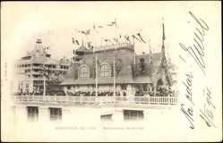 Cp Paris, Expo, Weltausstellung 1900, Messageries Maritimes