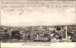 Postcard Monastir Bitola Mazedonien, Campagne d'Orient 1914, Vue générale