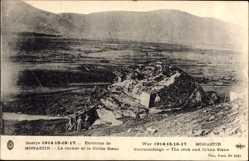 Postcard Monastir Bitola Mazedonien, Le rocher et la Crvna Stena