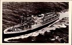 Postcard Paquebot El Mansour, Compagnie de Navigation Mixte