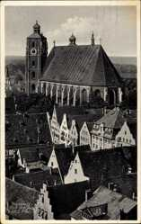 Postcard Ingolstadt an der Donau Oberbayern, Blick zum Dom z. Sch. L. Frau