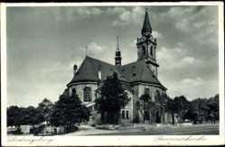 Postcard Ludwigsburg in Baden Württemberg, Blick auf die Garnisonskirche
