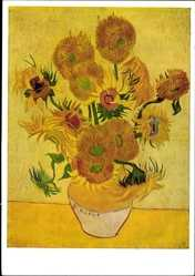 Künstler Ak van Gogh, Vincent, Sonnenblumen, Bruckmann Nr 57