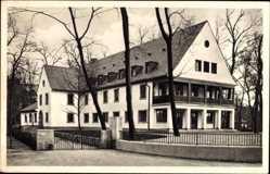 Postcard Mannheim in Baden Württemberg, Blick auf die Jugendherberge
