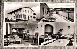 Postcard Tännesberg Oberpfalz, Café und Pension, Raststätte Ihr Sonnenhof