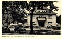 Postcard Bad Rothenfelde am Teutoburger Wald, Hotel Deutsches Haus, F. Wiemann