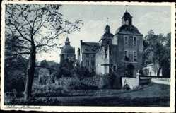 Postcard Korschenbroich Rhein Kreis Neuss, Blick auf Schloss Millendonk