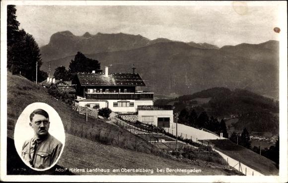Afbeeldingsresultaat voor hitler berchtesgaden