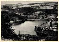 Postcard Lieberhausen Gummersbach im Oberbergischen Kreis, Aggertalsperre, Umgebung
