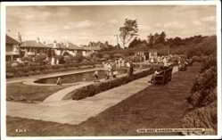 Postcard Southbourne Dorset South West, The Rest Garten, Gärten, Wasserbecken