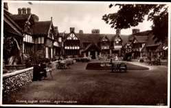 Postcard Rottingdean South East, Tudor Close Hotel, Court