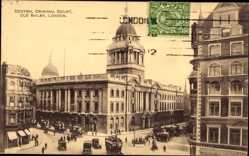 Postcard London City, Central Criminal Court, Old Bailey